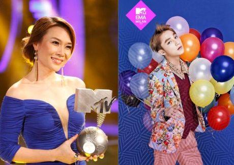 Dong Nhi den voi MTV EMA: Ai huong loi? - Anh 2