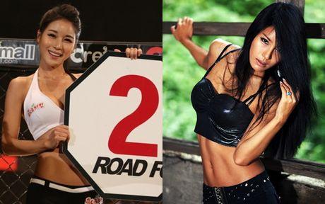Top 10 nang 'Ring Girl' dinh dam nhat san dau UFC - Anh 3