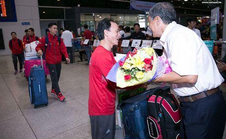 Tuyen quyen Taekwondo Viet Nam tro ve sau giai Vo dich quyen the gioi 2016 - Anh 1