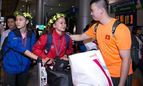 Tuyen quyen Taekwondo Viet Nam tro ve sau giai Vo dich quyen the gioi 2016 - Anh 3