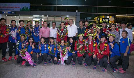 Tuyen quyen Taekwondo Viet Nam tro ve sau giai Vo dich quyen the gioi 2016 - Anh 6
