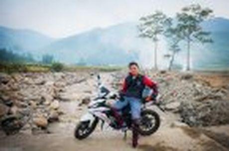 Hanh trinh Honda WINNER 150 chang 2 - chinh phuc Cuc Tay A Pa Chai - Anh 22