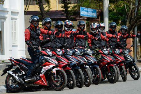Hanh trinh Honda WINNER 150 chang 2 - chinh phuc Cuc Tay A Pa Chai - Anh 2