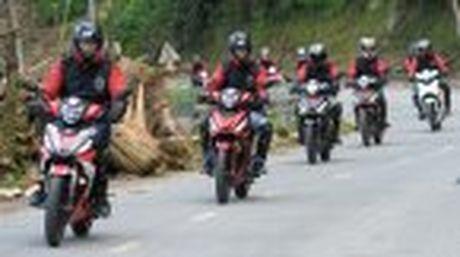 Hanh trinh Honda WINNER 150 chang 2 - chinh phuc Cuc Tay A Pa Chai - Anh 47