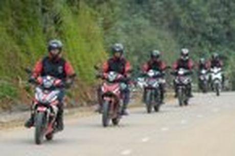 Hanh trinh Honda WINNER 150 chang 2 - chinh phuc Cuc Tay A Pa Chai - Anh 53