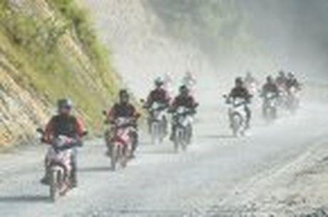 Hanh trinh Honda WINNER 150 chang 2 - chinh phuc Cuc Tay A Pa Chai - Anh 55