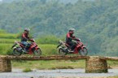 Hanh trinh Honda WINNER 150 chang 2 - chinh phuc Cuc Tay A Pa Chai - Anh 61