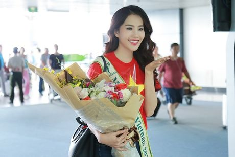 Nam Em mang theo 150kg hanh ly den Philippines thi Miss Earth - Anh 7