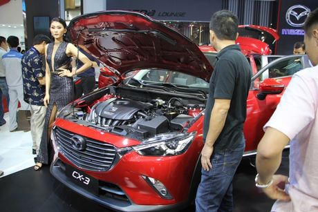 Mazda CX-3 'phien ban thu nho cua CX-5' gay chu y tai VMS 2016 - Anh 4
