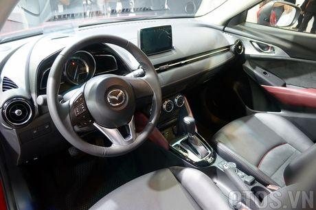 Mazda CX-3 'phien ban thu nho cua CX-5' gay chu y tai VMS 2016 - Anh 7