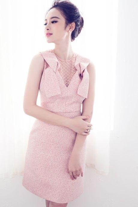 Angela Phuong Trinh ngot ngao, day nu tinh voi vay hong nen na - Anh 1