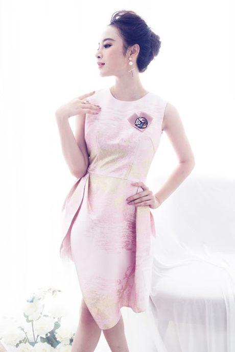 Angela Phuong Trinh ngot ngao, day nu tinh voi vay hong nen na - Anh 2