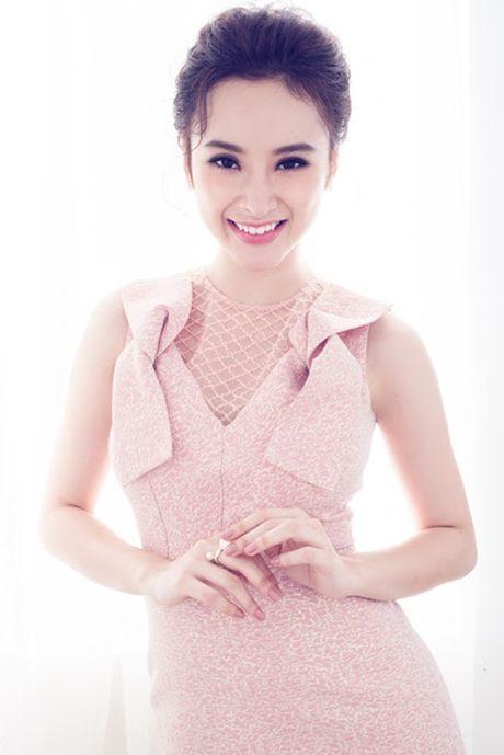 Angela Phuong Trinh ngot ngao, day nu tinh voi vay hong nen na - Anh 4