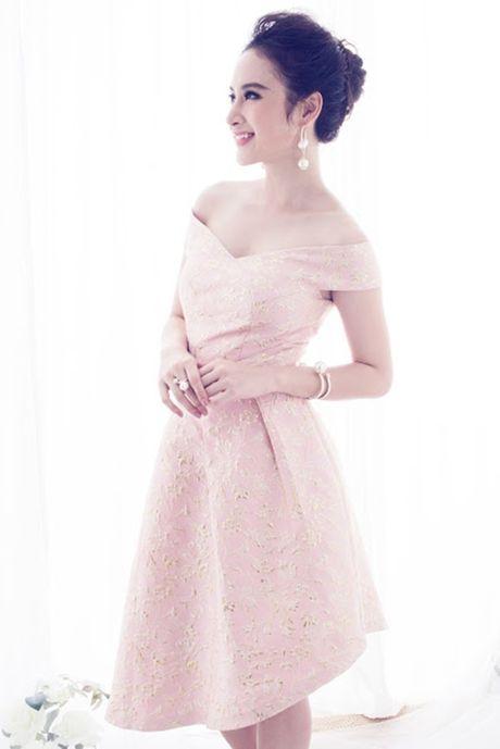 Angela Phuong Trinh ngot ngao, day nu tinh voi vay hong nen na - Anh 7