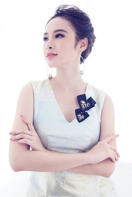 Angela Phuong Trinh ngot ngao, day nu tinh voi vay hong nen na - Anh 9