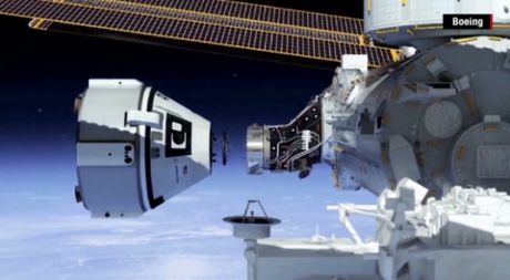 Boeing co the dua nguoi len sao Hoa truoc Space X - Anh 1