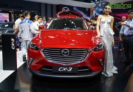 Can canh Mazda CX-3 gia tren 700 trieu dong tai VMS 2016 - Anh 3