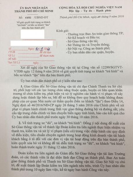 """Thanh tra Bo Giao thong Van tai chi dao xu ly nghiem nan """"xe du, ben lau"""" - Anh 2"""