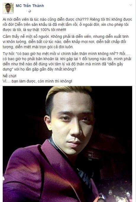 MC Tran Thanh 'ne' vi su gia tao cua Vy Oanh? - Anh 3