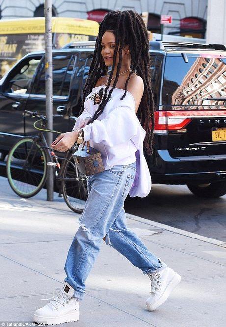 Quyet dinh de mai toc dreadlocks, hinh nhu Rihanna… hoi fail - Anh 4