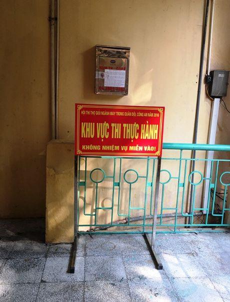 Hoi thi tho gioi nganh may trong Quan doi, Cong an nam 2016 - Anh 3