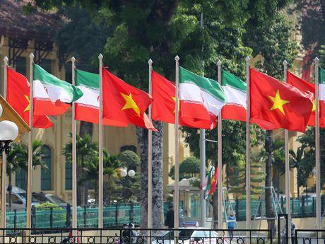 Tong thong Iran Hassan Rouhani tham Viet Nam - Anh 2