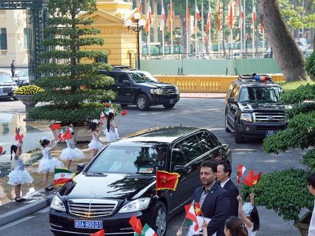 Tong thong Iran Hassan Rouhani tham Viet Nam - Anh 4