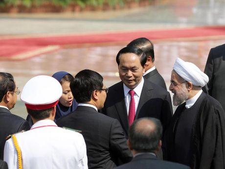 Tong thong Iran Hassan Rouhani tham Viet Nam - Anh 7