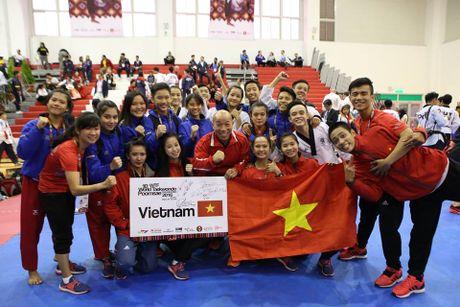 Taekwondo Viet Nam va uoc vong bay cao - Anh 2