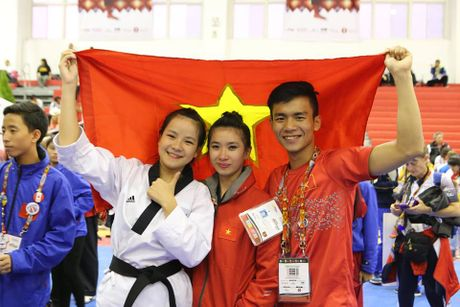 Taekwondo Viet Nam va uoc vong bay cao - Anh 3