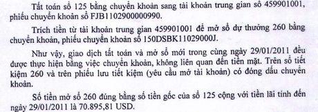 """Thuc hu vu so tiet kiem hon 70.000 USD """"khong canh ma bay"""" tai ngan hang Viet A - Anh 2"""