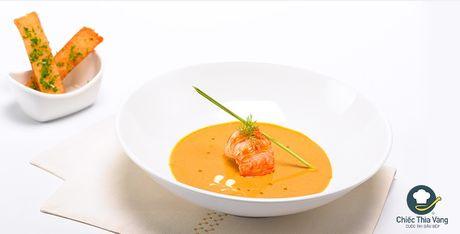Chiec thia vang: Sup kem beo tom hum - Anh 1