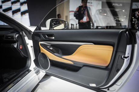 Lexus RC 200t xe sang 2 cua duy nhat tai Vietnam Motor Show - Anh 9