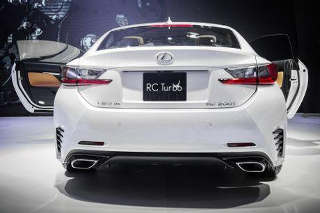 Lexus RC 200t xe sang 2 cua duy nhat tai Vietnam Motor Show - Anh 3