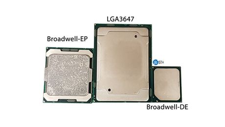 Intel se co CPU Skylake-EX va Knights Landing su dung socket LGA 3647, kich thuoc gap 4 lan binh thuong - Anh 2