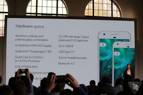 Duoc trang bi chip Snapdragon 821, diem benchmark cua Google Pixel van thua xa iPhone 7 - Anh 2