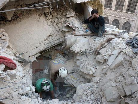 Ngoai truong Nga, Phap thao luan ve cuoc khung hoang Syria - Anh 1