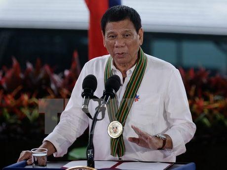 Tong thong Philippines Rodrigo Duterte thach thuc CIA 'lat do' - Anh 1