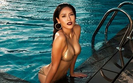 Can canh vong 1 'khung' cua nguoi dep Nguyen Thi Loan - Anh 3