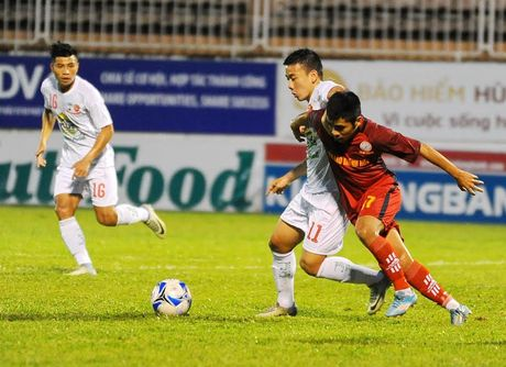 Khong Tuan Anh, Xuan Truong, Cong Phuong - U21 HAGL van thang lon tran ra quan - Anh 2
