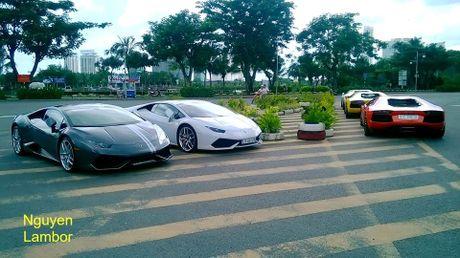 5 'sieu bo' Lamborghini tien ty dai nao Sai Gon - Anh 1
