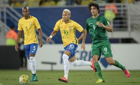 Brazil 5-0 Bolivia: Trieu dai moi cua...Neymar - Anh 2