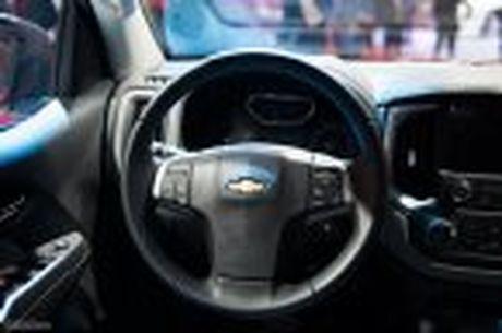 Chevrolet ra mat Colorado 2017, bo sung cong nghe, 5 phien ban, gia tu 619 trieu - Anh 20