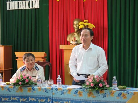 Thu truong Le Tien Chau ghi nhan su no luc cua THADS Dak Lak - Anh 3