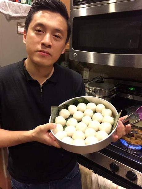 """Doan Trang """"du"""" chong Tay thuong thuc bun cha Ha Noi - Anh 11"""