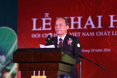 """Nguoi dan Thu do do xo di mua nong san """"sach, chat luong cao"""" - Anh 1"""
