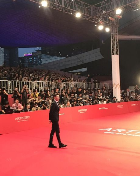 Isaac dien trai cung dan sao Han du khai mac Lien hoan phim Busan - Anh 2