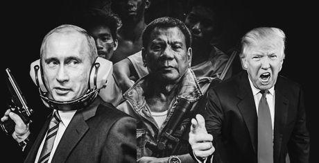 Putin, Duterte va Trump co diem gi chung khien nhieu nguoi say me? - Anh 1