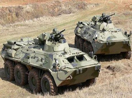 Quan doi Nga tiep nhan xe boc thep BTR-82A phien ban Bac Cuc - Anh 1