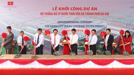 Khoi cong du an lam song lai cac con song tai Thu do - Anh 1